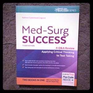 Med-Surg Success book. Third edition.